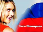 Sharapova Maria Media Backgrounds