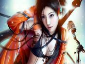 Singing Fantasy Girl Backgrounds
