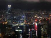 Skyscraper Night Backgrounds