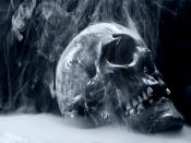 Smoke Over Skull Backgrounds