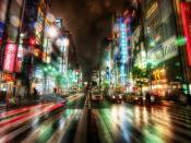 Speed Racing Cityscapes Backgrounds
