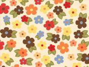 Summer Flowers Pattern Backgrounds