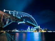 Sydney Harbour Bridge Australia Backgrounds