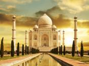 Taj Mahal Agra India Backgrounds