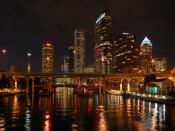 Tampa Bay Night Backgrounds