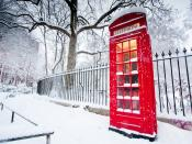 Telephone Booth UK Backgrounds