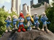 The Smurfs Play Backgrounds