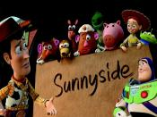 Toy Story 3 Sunny Side Backgrounds