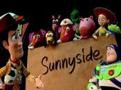 Toy Story 3 Sunny Side Backgrounds