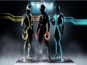 Tron Legacy Clu Quorra Flynn Backgrounds