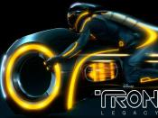Tron Legacy Yellow Light Bike Backgrounds
