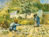 Van Gogh First Backgrounds