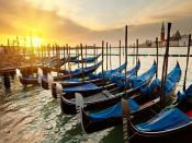 Venice Race Boats Backgrounds