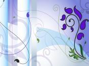Violet Paint Vector Design Backgrounds