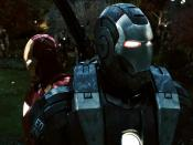 War Machine Iron Man Backgrounds