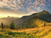 Way To Mountain Peak Backgrounds