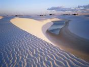 White Sandy dunes Backgrounds