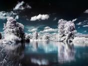 Winter Freez Lake Backgrounds