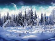 Winter Mountains Backgrounds