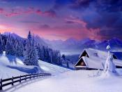 Winter Snow Home Backgrounds