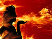 Women With Fire Show Backgrounds