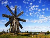 Wooden Mill Backgrounds
