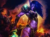 World Of Warcraft Action Lady Backgrounds