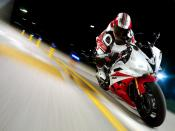 Yamaha YZFR6 2007 Racing Backgrounds