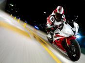 Yamaha YZFR6 2007 Racing Backgrounds