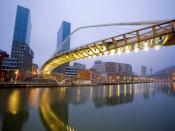 Zubizuri Bridge Spain Backgrounds